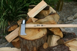 Idealspaten Splitting Axe with Hickory Handle 3000g