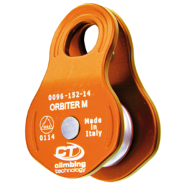 Climbing Technology Small Swing Sided Pulley 30kN